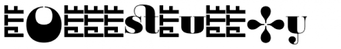 Ambroise Alt Black Font LOWERCASE