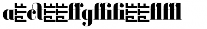 Ambroise Alt Firmin Black Font LOWERCASE