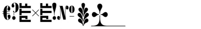 Ambroise Alt Francois Black Font OTHER CHARS