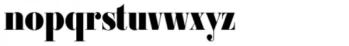 Ambroise Std Firmin Black Font LOWERCASE