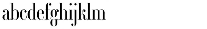 Ambroise Std Firmin Light Font LOWERCASE