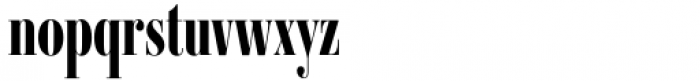 Ambroise Std Francois Extra Bold Font LOWERCASE