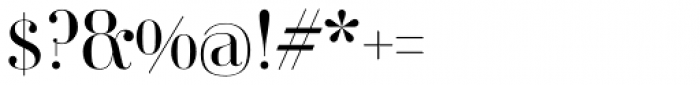 Ambroise Std Light Font OTHER CHARS
