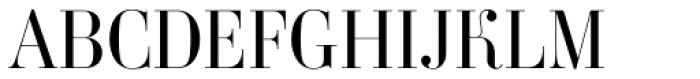 Ambroise Std Light Font UPPERCASE