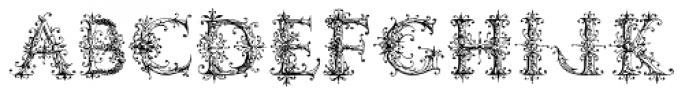 Ambrose Bierce Damned Font Font UPPERCASE