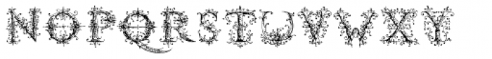 Ambrose Bierce Damned Font Font LOWERCASE