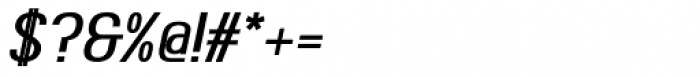 Ambrosia Bold Italic Font OTHER CHARS
