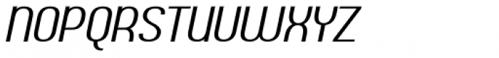 Ambrosia Italic Font UPPERCASE