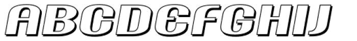 Ameche Pisa Font UPPERCASE