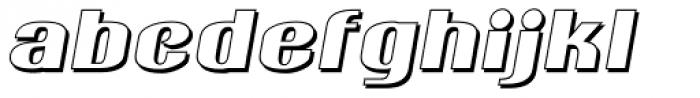 Ameche Pisa Font LOWERCASE