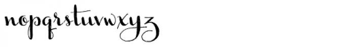Ameglia Font LOWERCASE