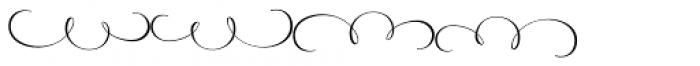 American Calligraphic Fleur Font LOWERCASE