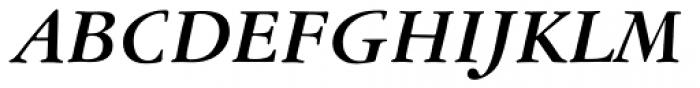 American Garamond Bold Italic Font UPPERCASE
