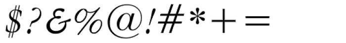 American Garamond Italic Font OTHER CHARS