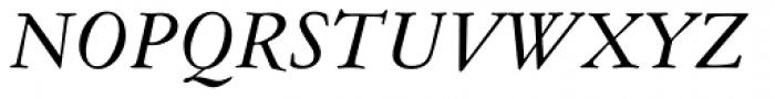 American Garamond Italic Font UPPERCASE