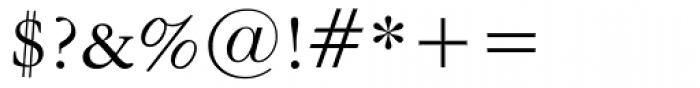 American Garamond Font OTHER CHARS