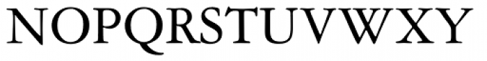 American Garamond Font UPPERCASE