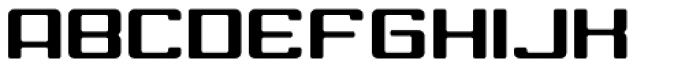 American Highway Font UPPERCASE