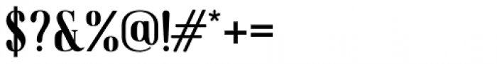 American Oak Serif Font OTHER CHARS