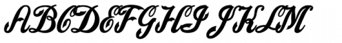 American Pop Plain Font UPPERCASE