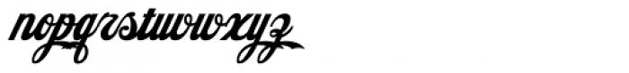 American Pop Plain Font LOWERCASE