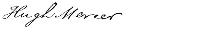 American Revolution Font UPPERCASE