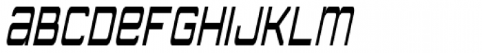 American Sensation Diet Italic Font UPPERCASE
