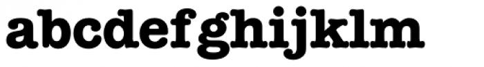 American Typewriter Bold Font LOWERCASE