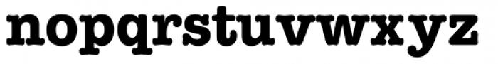 American Typewriter Pro Bold Font LOWERCASE
