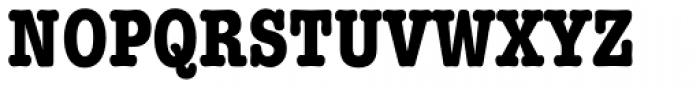American Typewriter Std Bold Condensed Font UPPERCASE