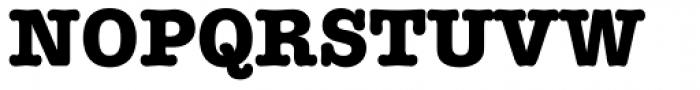 American Typewriter Std Bold Font UPPERCASE