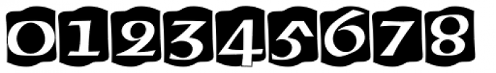 American Uncial Initials D Font OTHER CHARS