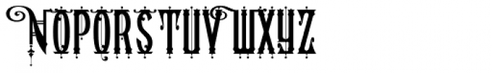 American West Font UPPERCASE