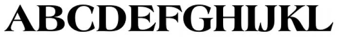 Americana ExtraBold Font UPPERCASE