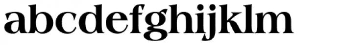 Americana ExtraBold Font LOWERCASE