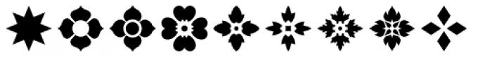 Americana Ornaments Font OTHER CHARS