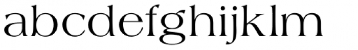 Americana Regular Font LOWERCASE