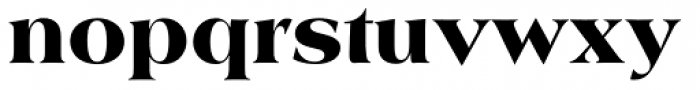 Americana SB Black Font LOWERCASE