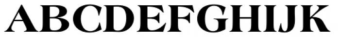 Americana SB ExtraBold Font UPPERCASE