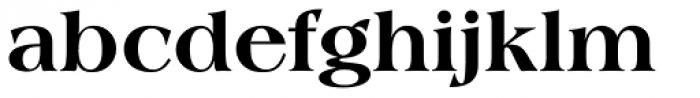 Americana SB ExtraBold Font LOWERCASE
