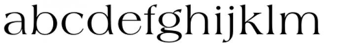 Americana SB Regular Font LOWERCASE