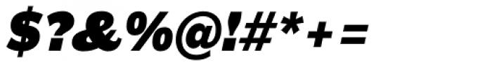 Americane Black Italic Font OTHER CHARS