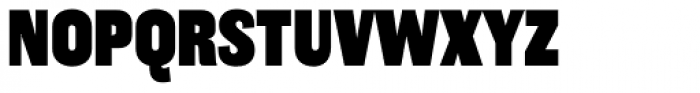 Americane Condensed Black Font UPPERCASE