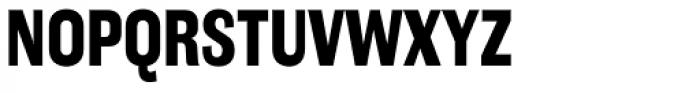 Americane Condensed Bold Font UPPERCASE