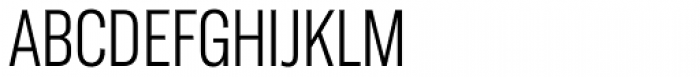 Americane Condensed Light Font UPPERCASE