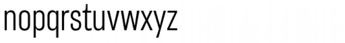 Americane Condensed Light Font LOWERCASE