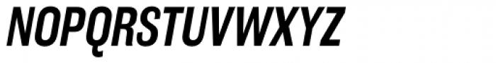 Americane Condensed Medium Italic Font UPPERCASE