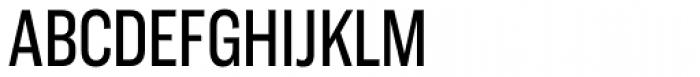 Americane Condensed Font UPPERCASE
