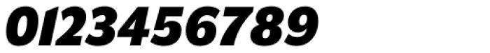 Americane Heavy Italic Font OTHER CHARS