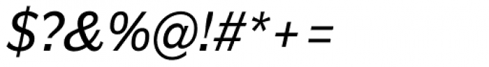 Americane Italic Font OTHER CHARS